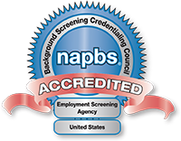 Accredited Employment Screening Agency by NAPBS